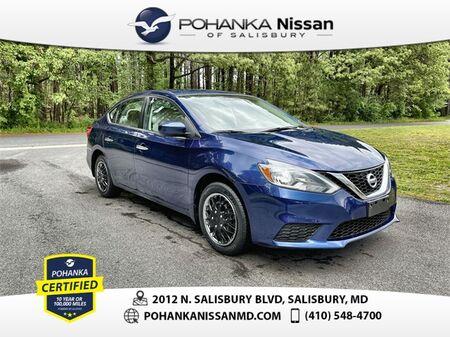 2017_Nissan_Sentra_S_ Salisbury MD
