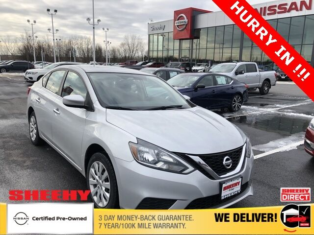 2017 Nissan Sentra S White Marsh MD