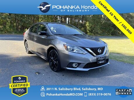 2017_Nissan_Sentra_SR ** Pohanka Certified 10 Year / 100,000 **_ Salisbury MD