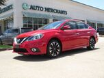 2017 Nissan Sentra SR TURBO CVT *Turbo Premium Package* LEATHER, SUNROOF, BACKUP CAMERA, BLIND SPOT, HTD FRONT SEATS