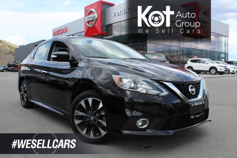 2017 Nissan Sentra SR Turbo, Manual, One Owner, Very Low Km's, No Accidents Penticton BC