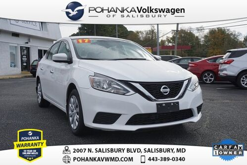 2017_Nissan_Sentra_SV ** FRESH TRADE ** CLEAN CARFAX ONE OWNER **_ Salisbury MD