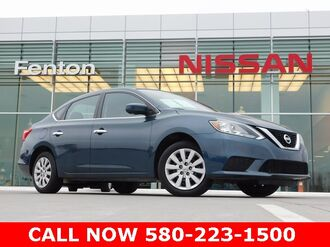 2017_Nissan_Sentra_SV Nissan Certified Pre-Owned_ Ardmore OK
