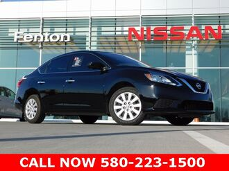 2017_Nissan_Sentra_SV Nissan Certified Pre-Owned  One Owner Clean Carfax_ Ardmore OK