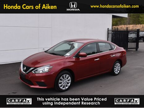 2017_Nissan_Sentra_SV_ Aiken SC