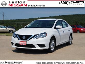 2017_Nissan_Sentra_SV_ McAlester OK