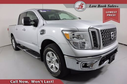 2017 Nissan TITAN CREW CAB 4X4 SV Salt Lake City UT