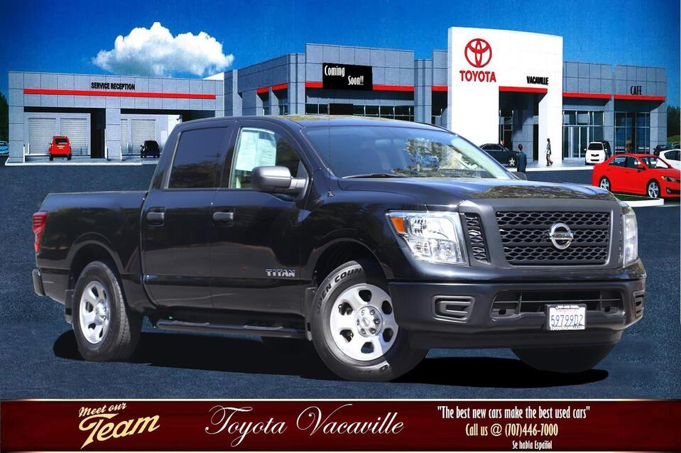 vehicle details - 2017 nissan titan crew cab at toyota vacaville