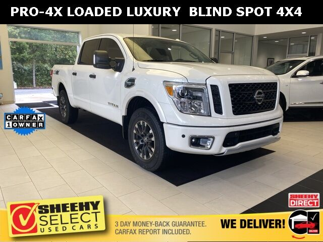 2017 Nissan Titan PRO-4X CONVENIENCE & LUXURY PACKAGE Annapolis MD