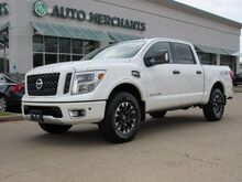 2017_Nissan_Titan_PRO-4X Crew Cab 4WD  LEATHER SEATS, NAVIGATION, BLIND SPOT MONITOR, HEATED AND COOLED FRONT SEATS_ Plano TX