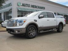 2017_Nissan_Titan_Platinum Reserve Crew Cab 2WD  AUTOMATIC, LEATHER SEATS, NAVIGATION, BLIND SPOT MONITOR_ Plano TX