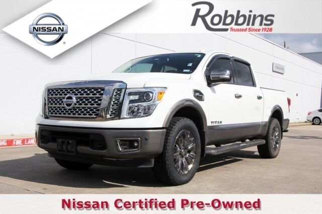 2017 Nissan Titan Platinum Reserve Houston TX