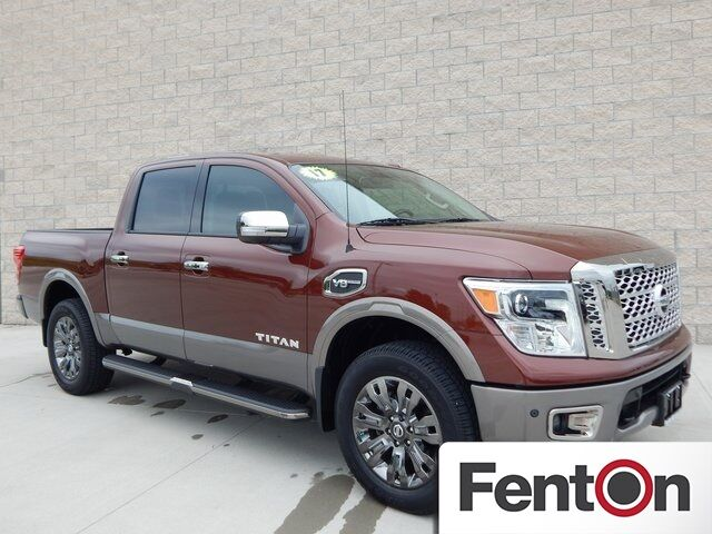 2017 Nissan Titan Platinum Reserve Lee's Summit MO