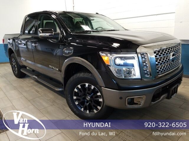 2017 Nissan Titan Platinum Reserve Plymouth WI