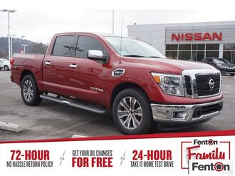 2017_Nissan_Titan_SL_ Knoxville TN