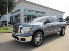 2017_Nissan_Titan_SV Crew Cab 2WD CLOTH/LEATHER, NAVI, BLIND SPOT, BACKUP CAM, HTD FRONT STS, UNDER FACTORY WARRANTY_ Plano TX