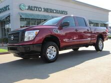 Nissan Titan XD S 2WD CLOTH SEATS, BLUETOOTH, AUX/USB INPUT, PUSH BUTTON START, CD PLAYER, AM/FM RADIO, BED LINER 2017