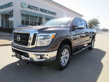 2017_Nissan_Titan XD_SL 4WD Diesel LEATHER, NAVIGATION, BACKUP CAM, BLUETOOTH, SLIDING REAR WINDOW, HEATED SEATS_ Plano TX