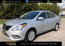 2017_Nissan_Versa_1.6 SV Sedan_ Salt Lake City UT