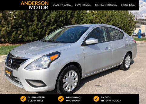 2017 Nissan Versa 1.6 SV Sedan Salt Lake City UT