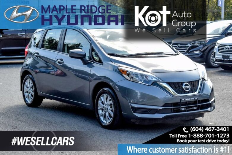 2017 Nissan Versa Note Bluetooth, Back Up Camera, Alloy Wheels, Power windows and Locks Penticton BC