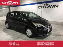 2017_Nissan_Versa Note_S **Nissan Certified Pre Owned/Save Thousands From New**_ Winnipeg MB