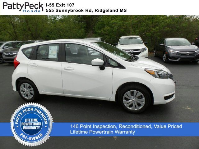 2017 Nissan Versa Note S Plus FWD Jackson MS
