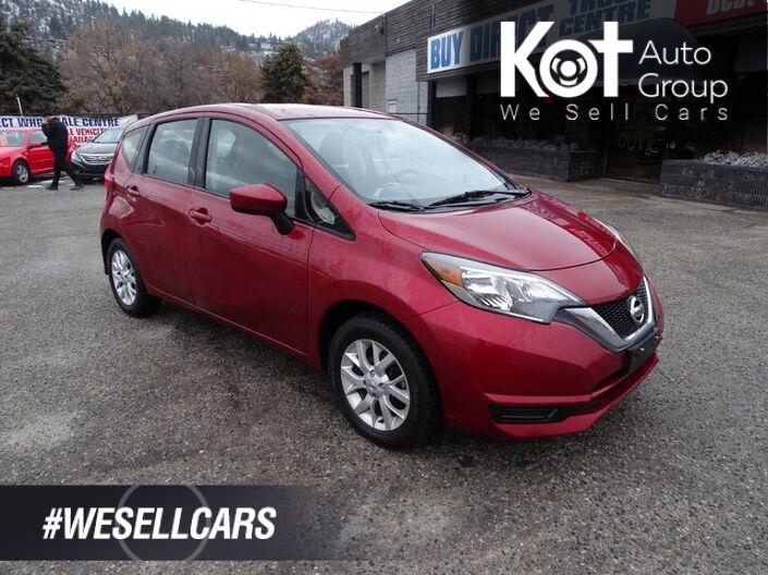 2017 Nissan Versa Note SV, Heated Seats, Bluetooth, SXM, Low KM's Kelowna BC