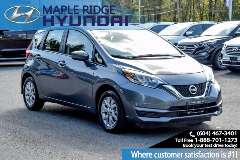 2017 Nissan Versa Note SV Maple Ridge BC