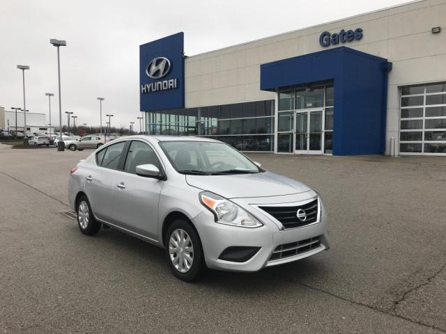 2017 Nissan Versa SV-CVT w/Rear Spoiler & Bluetooth Richmond KY