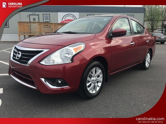 2017 Nissan Versa Sedan S High Point NC