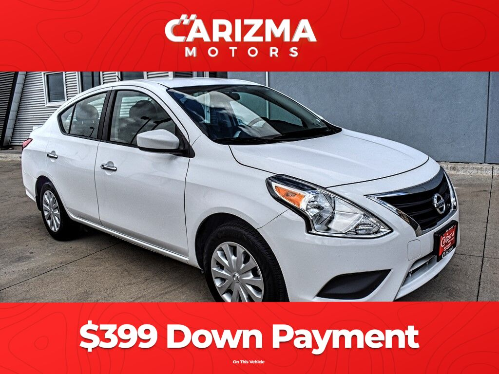 2017 Nissan Versa Sedan S MANUAL Lubbock TX