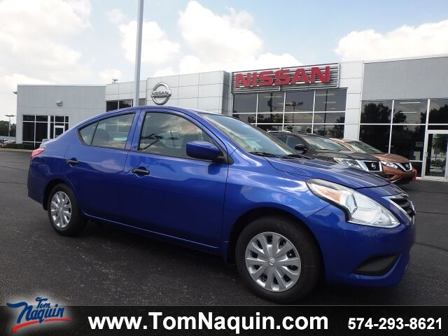 2017 Nissan Versa Sedan S Plus Cvt Fwd Elkhart In