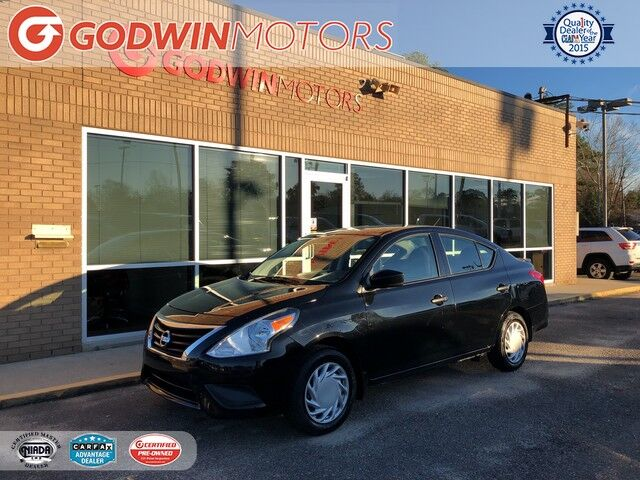 2017 Nissan Versa Sedan S Plus Columbia SC