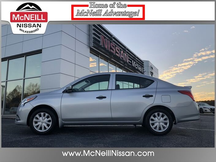 2017 Nissan Versa Sedan S Plus High Point NC