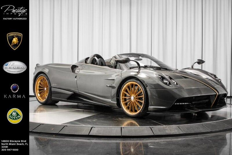 2017_Pagani_Huayra Roadster__ North Miami Beach FL