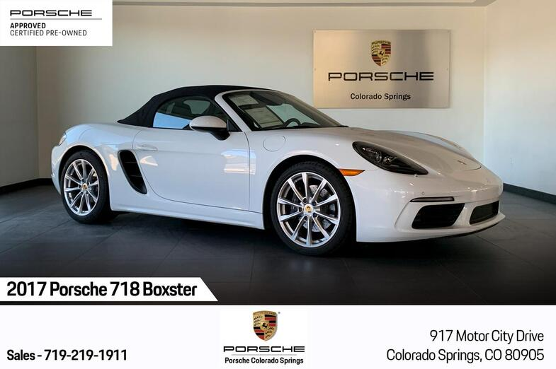 2017 Porsche 718 Boxster Boxster Colorado Springs CO