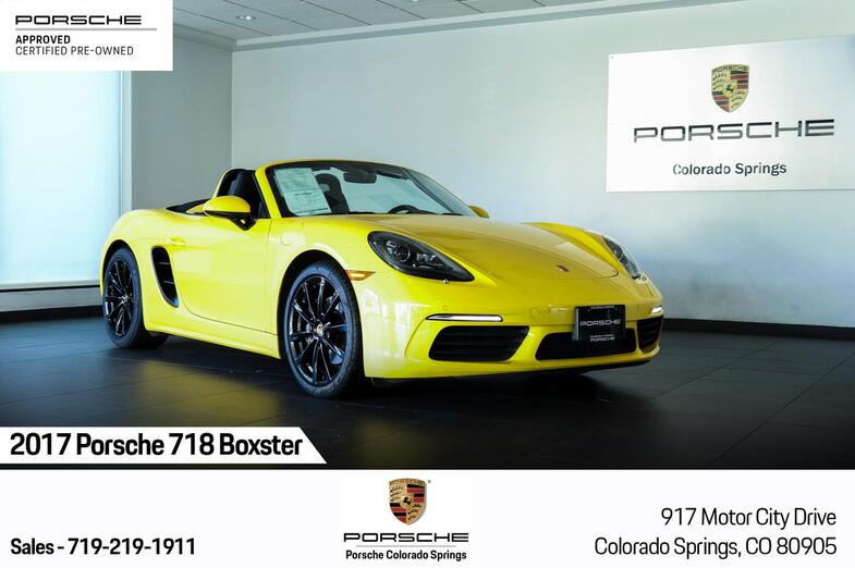 2017 Porsche 718 Boxster Colorado Springs CO