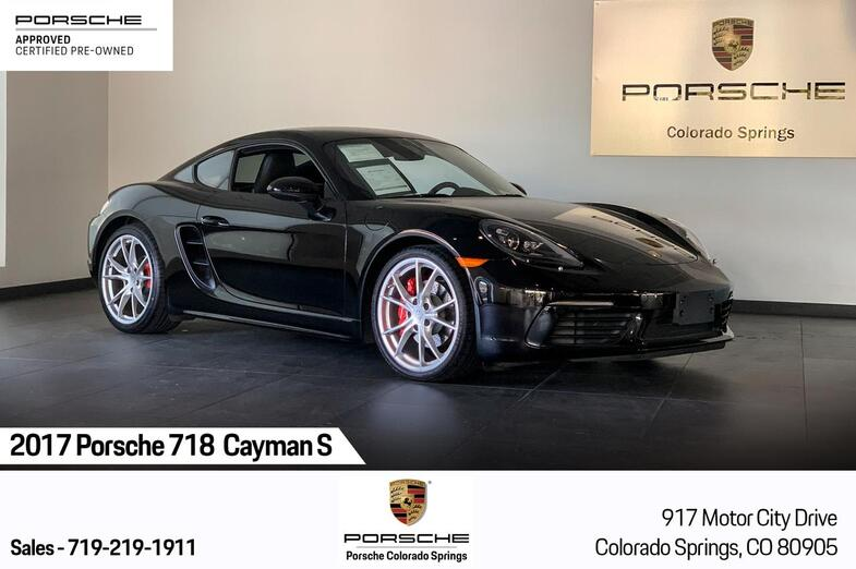 2017 Porsche 718 Cayman Cayman S Colorado Springs CO