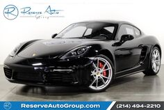 2017 Porsche 718 Cayman S Premium Pkg Plus Navigation Lane Change Assist