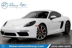 2017 Porsche 718 Cayman S Premium Plus Pkg BOSE Navigation LaneChange Assist