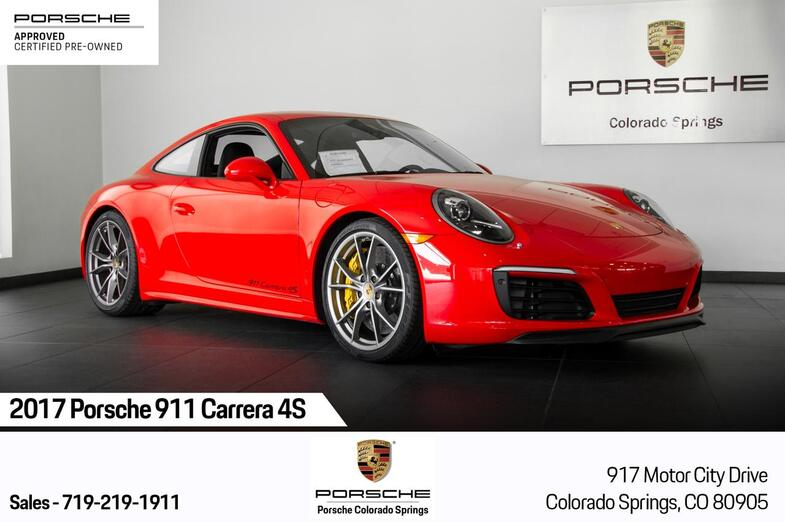 2017 Porsche 911 911 Carrera 4S Colorado Springs CO