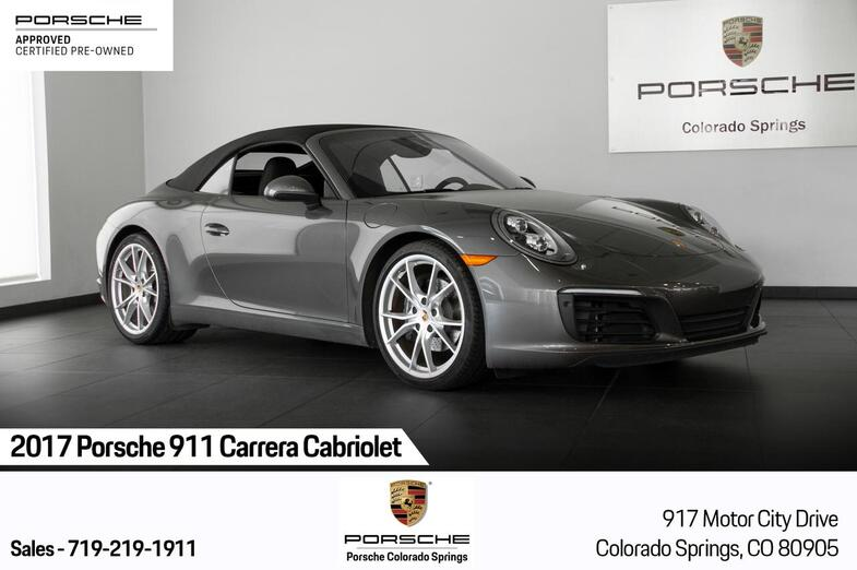 2017 Porsche 911 911 Carrera Cabriolet Colorado Springs CO