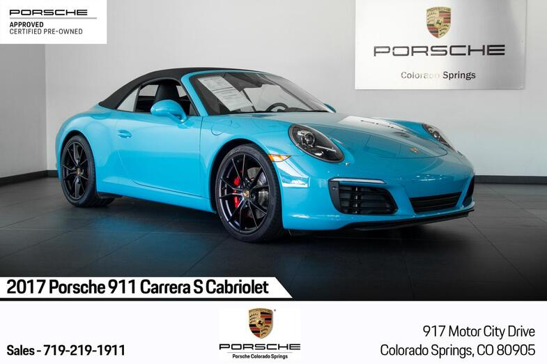 2017 Porsche 911 911 Carrera S Cabriolet Colorado Springs CO