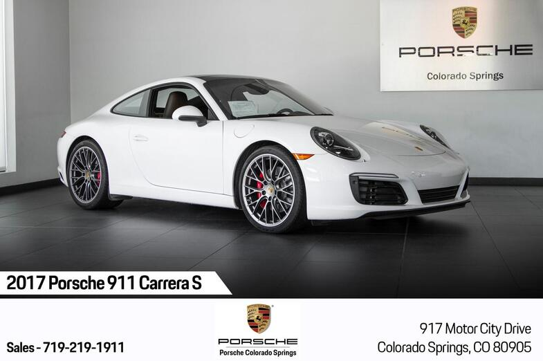2017 Porsche 911 911 Carrera S Colorado Springs CO