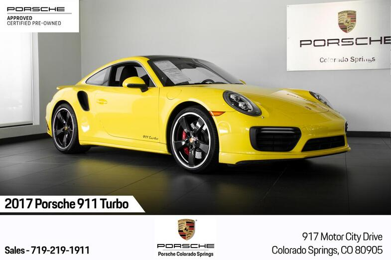 2017 Porsche 911 911 Turbo Colorado Springs CO