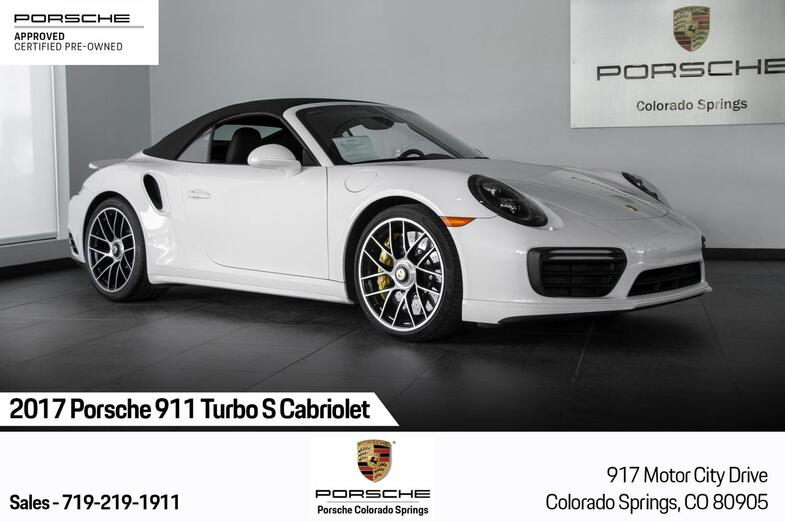 2017 Porsche 911 911 Turbo S Cabriolet Colorado Springs CO