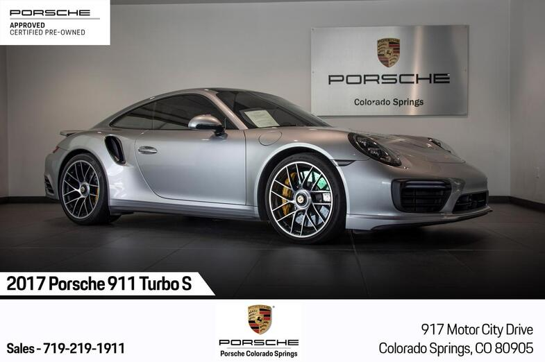 2017 Porsche 911 911 Turbo S Colorado Springs CO