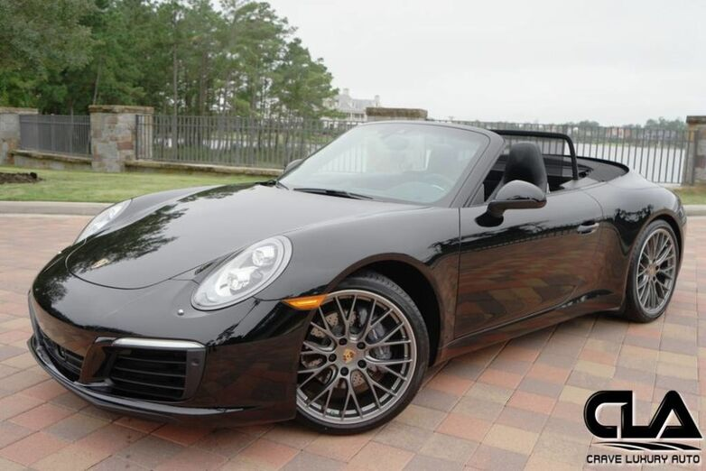 2017 Porsche 911 Cabriolet Carrera The Woodlands TX