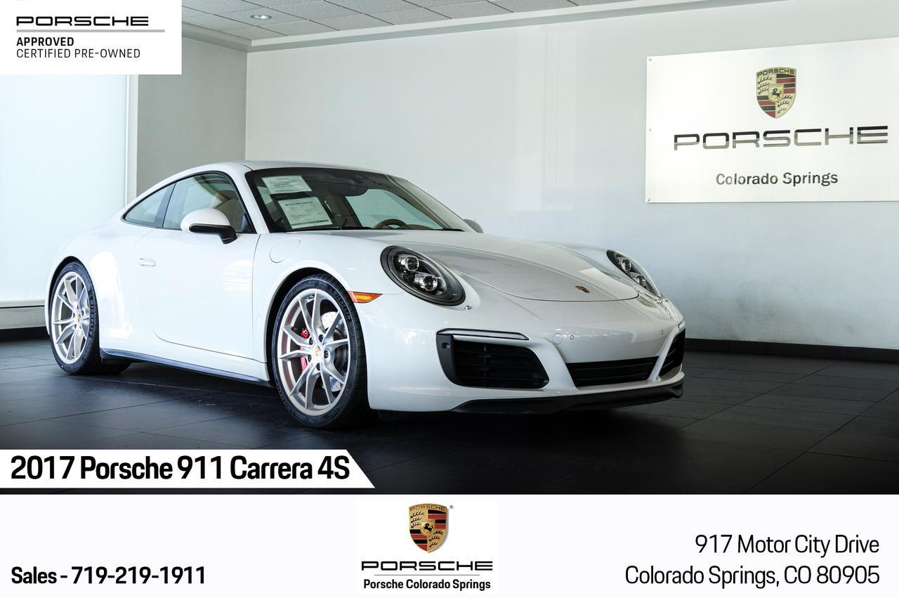 2017 Porsche 911 Carrera 4S Colorado Springs CO